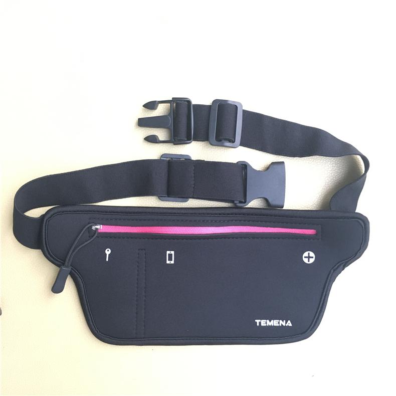 TEMENA Men Women Running Waist Belt Bag Phone Holder Jogging Belly Fanny Packs Gym Fitness Bags Sport Running Accessories 7