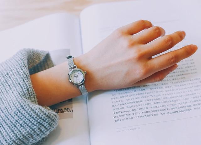 Fashion Women Quartz Analog Wrist Small Dial Delicate Watch Luxury Business Watches wrist watches for women Luxury Reloj femenin