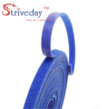 25 Meters/roll magic tape nylon cable ties Width 0.8 cm wire management cable ties 3 colors to choose from DIY недорого