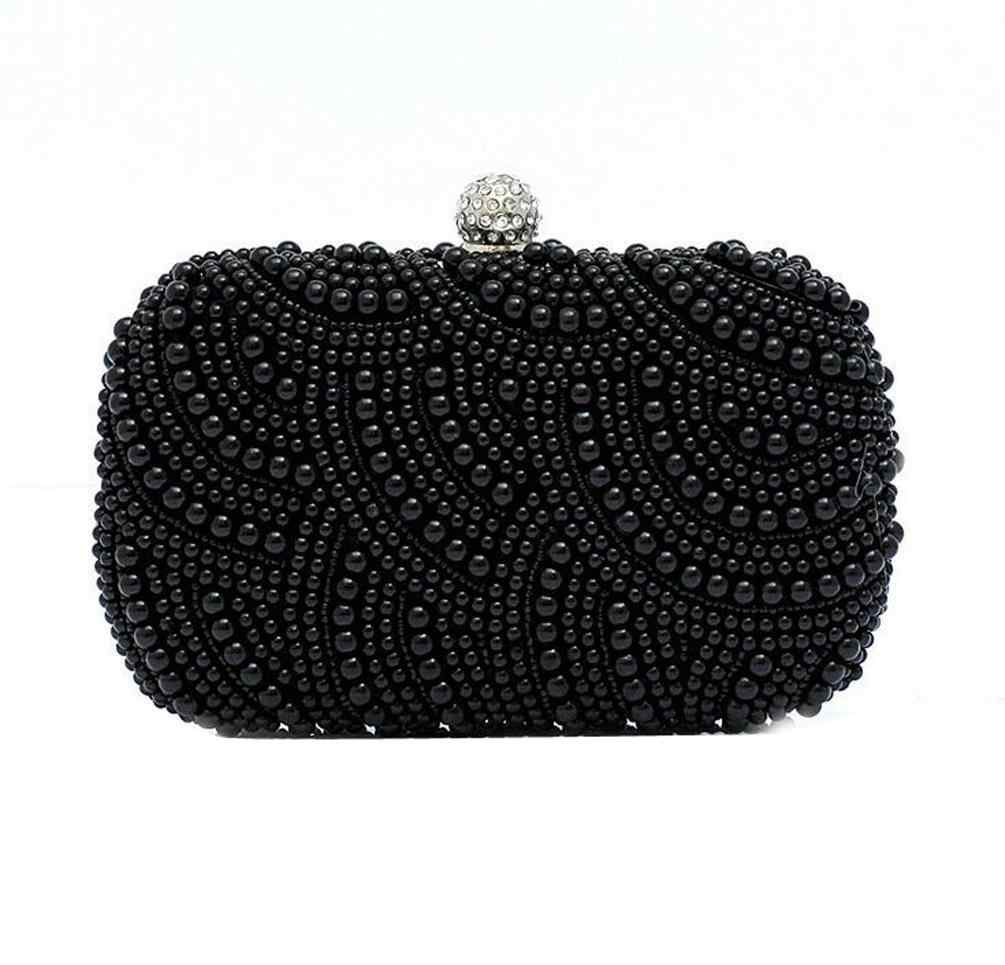 5106de53ca Detail Feedback Questions about 2016 Rushed Women Handbags Women's Pearl diamond  evening Clutch Bag Two Ladies Exquisite Sides Beaded Wedding Purse Wallet  ...