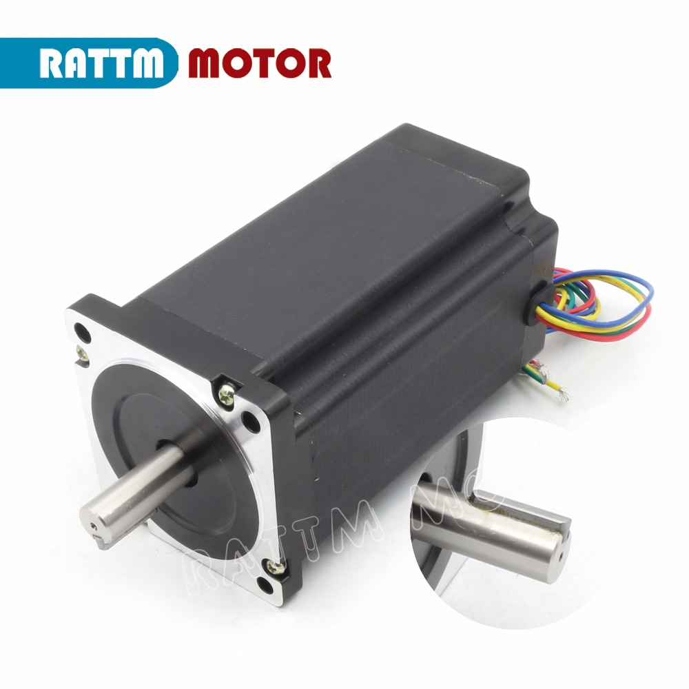 High-quality!! Nema34 1600 Oz-in/5.0A/154mm CNC stepper motor stepping motor