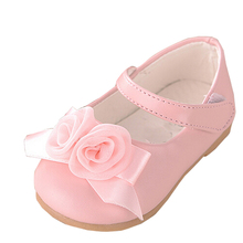 Cute Pink Flowers Girls Shoes