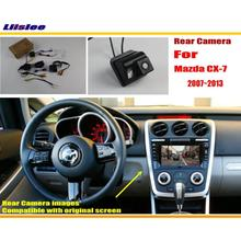 цена на Car Rear View Camera / Back Up Reverse Camera For 2012~2015 Mazda CX-7 CX7 CX 7 / RCA & Original Screen Compatible