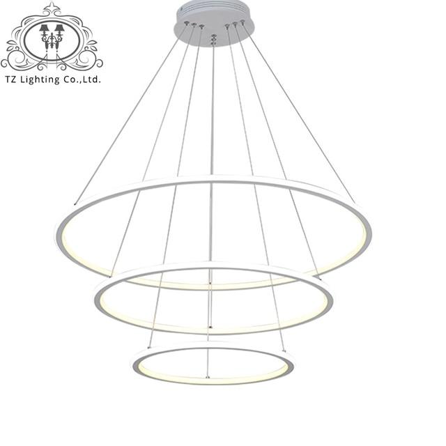 TZ Moderne LED salon salle  manger lampes suspendues suspension