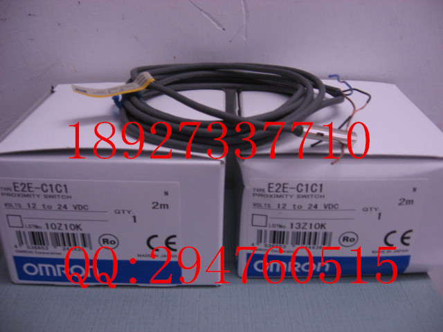 [ZOB] 100% new original OMRON Omron proximity switch E2E-C1C1 2M e2ec c1r5d1 e2ec c3d1 new and original omron proximity sensor proximity switch 12 24vdc 2m