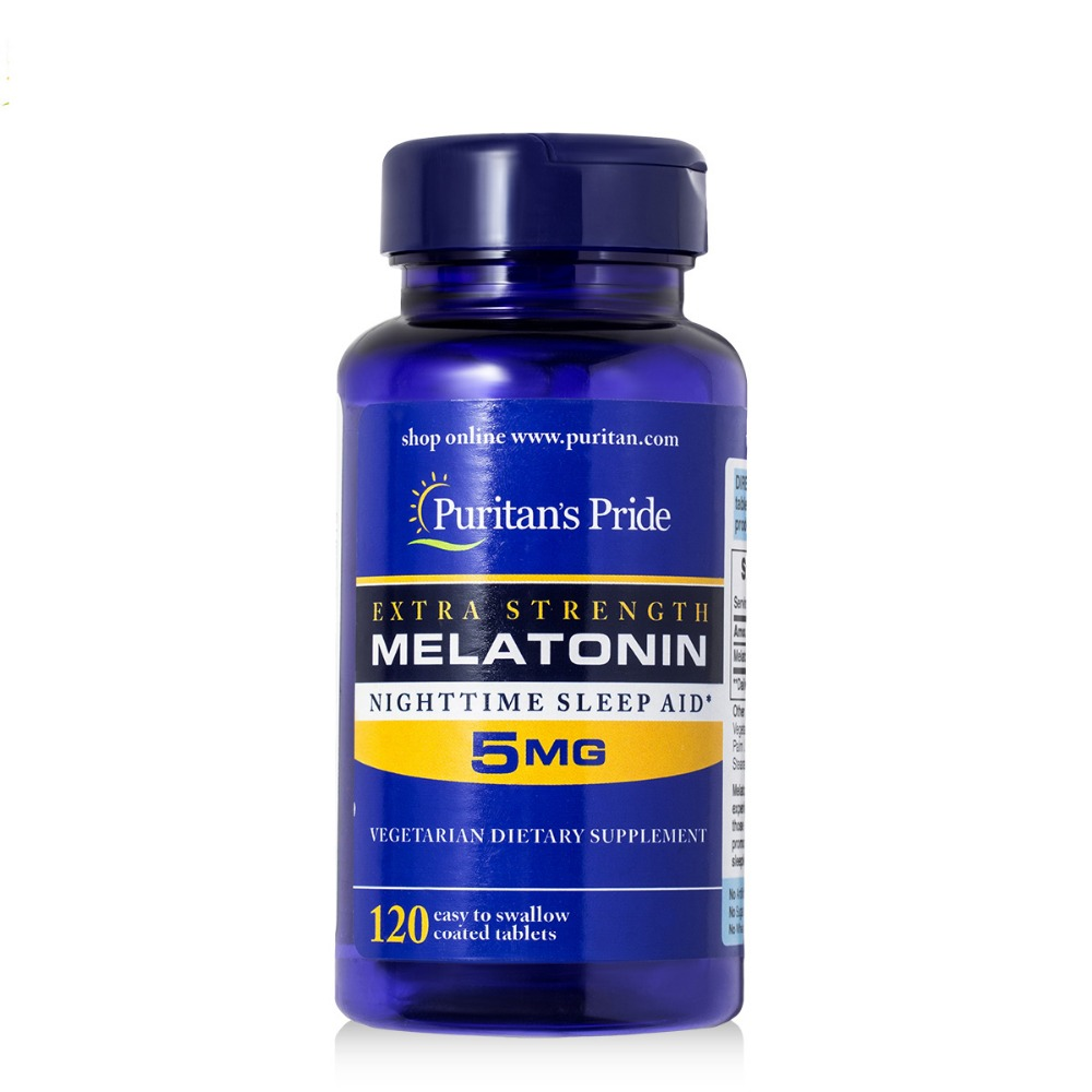 Melatonin 5 mg Timed Release-120 Melatonin is important for the natural sleep cycle free shipping free shipping melatonin 3 mg 240 pcs