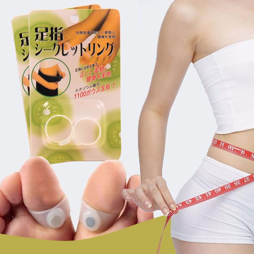 1 Para 100% Original Authentischen Ankle Gewichte Magnetische Silikon Fußmassage Zehenring Fettverbrennung Für Gewichtsverlust Fußpflege Wasserdicht StoßFest Und Antimagnetisch Schönheit & Gesundheit