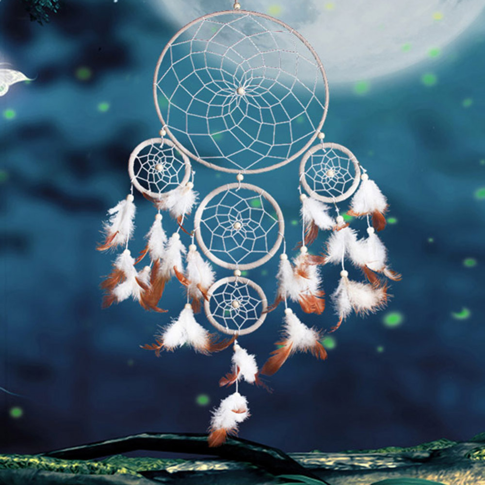 Nice Dream Catchers New Arrival 40 Circles Style Dreamcatcher Nice Gift Dream Catcher 4