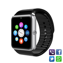 Smart Watch GT08 Men Women Bluetooth Wrist Smartwatch Support SIM TF Card Wristwatch For Apple Android