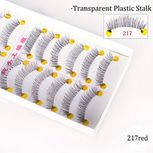 10 Pairs Fake Eyelashes 3D Mink Lashes False Thick Full Strip Long Black Natural Cruelty Free Handmade Makeup Beauty Tools CH504