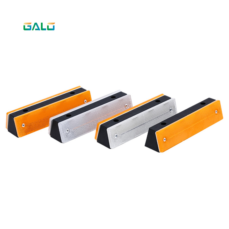 Reflective Material Road Stud Pavement Marker Anti-collision Warning Spike Yellow LED