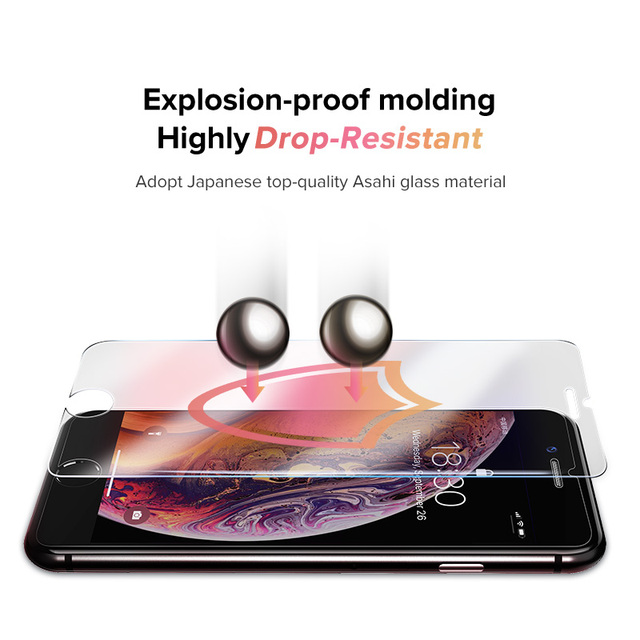 2.5D Tempered iPhone Protective Glass