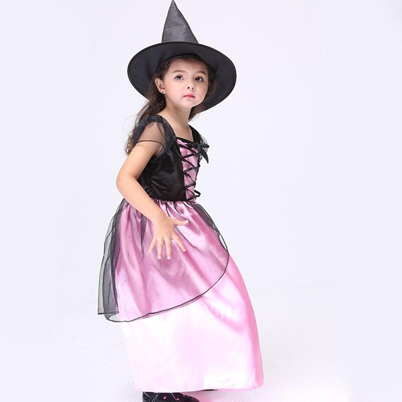 Nuevo conjunto de ropa de bruja para niña linda Consumir se sienta - Ropa de ninos