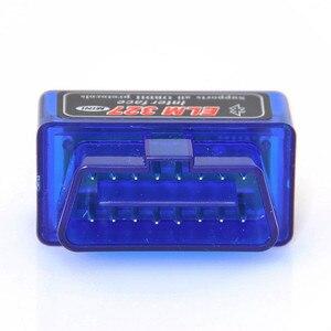 Image 2 - Super Mini Elm327 Bluetooth V 2,1 OBD2 EOBD Ulme 327 Mini Auto Code Diagnose Scaner Kostenloser Versand