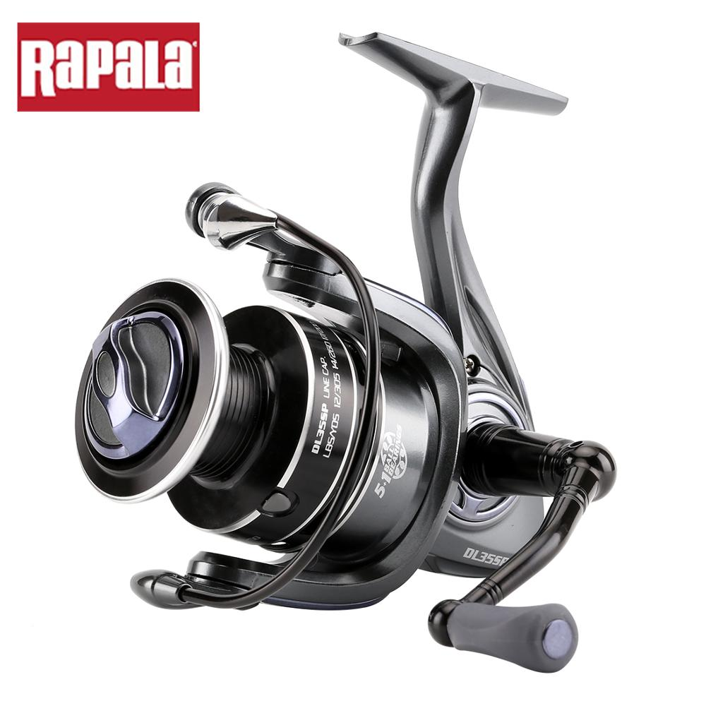 Rapala Spinning Fishing Reel DELTA 15 25 35SP Spinning Reel 5 1BB Graphite Body Coils for