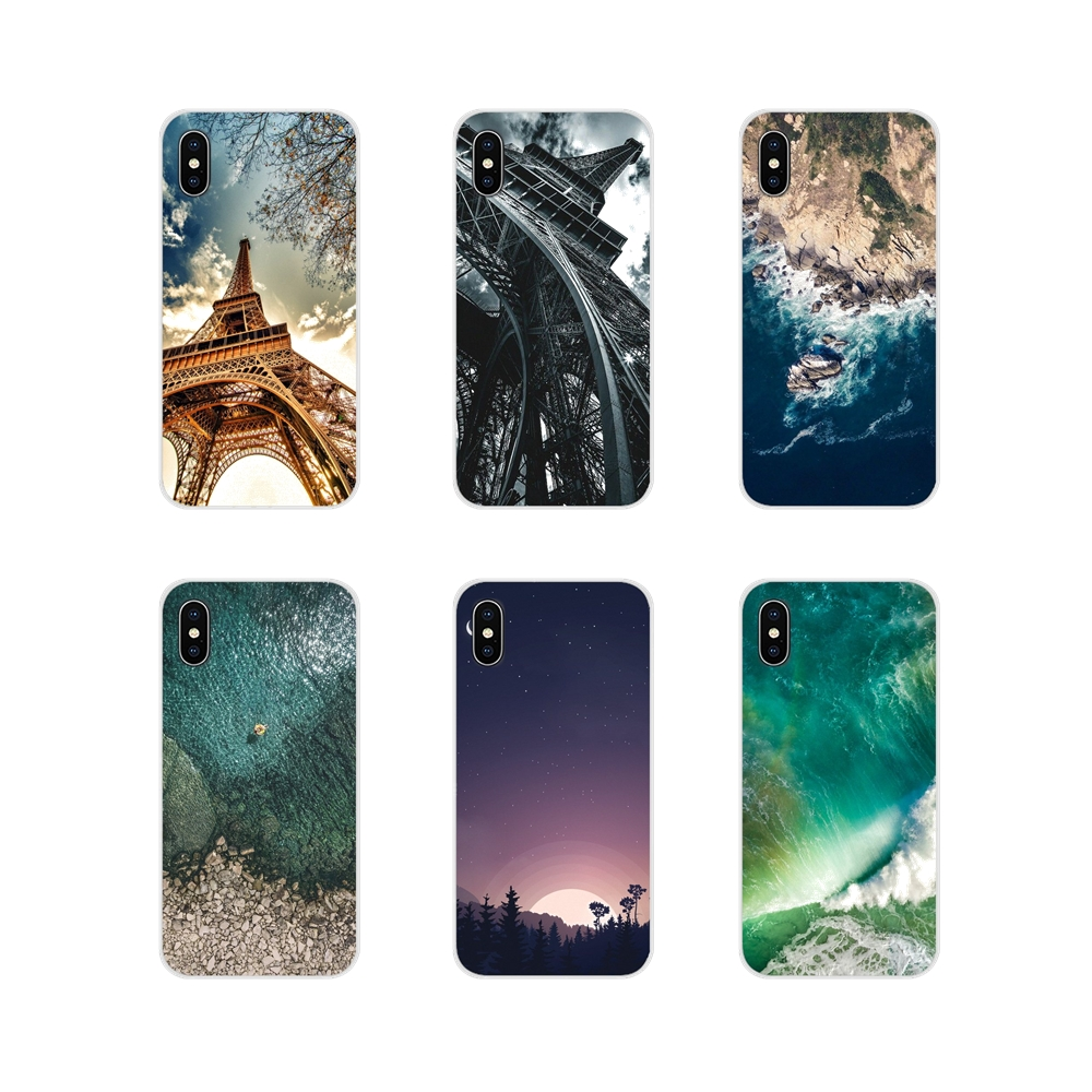 For Apple iPhone X XR XS MAX 4 4S 5 5S 5C SE 6 6S 7 8 Plus ipod touch 5 6 Soft Transparent Cases Covers textures phone wallpaper image