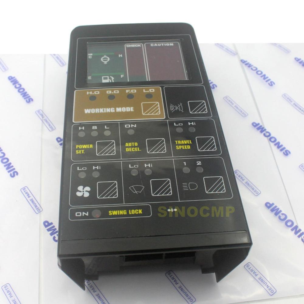 PC200-5 LCD Monitor 7824-72-3100 fits Komatsu Excavator Gauge Panel , 1 year warranty
