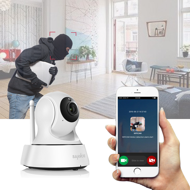Wireless Home Security IP Camera with Night Vision 3