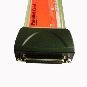 Image 4 - Карта pcmcia для ноутбука с параллельным портом, карта DB25 для принтера, параллельный порт LPT для карты, PCMCIA для ПК, адаптер для карты, конвертер