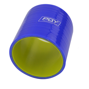 "Image 5 - BLUE & Yellow 2 51mm / 2.5"" 64mm / 3"" 76mm / 4"" 102mm Straight Silicone Intercooler Turbo Intake Pipe Coupler Hose"