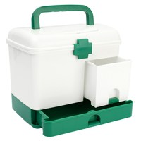 NEW 3 Layer Health Box Medicine Chest Handle First Aid Kit Storage Organizer Drawer Outdoor Camping