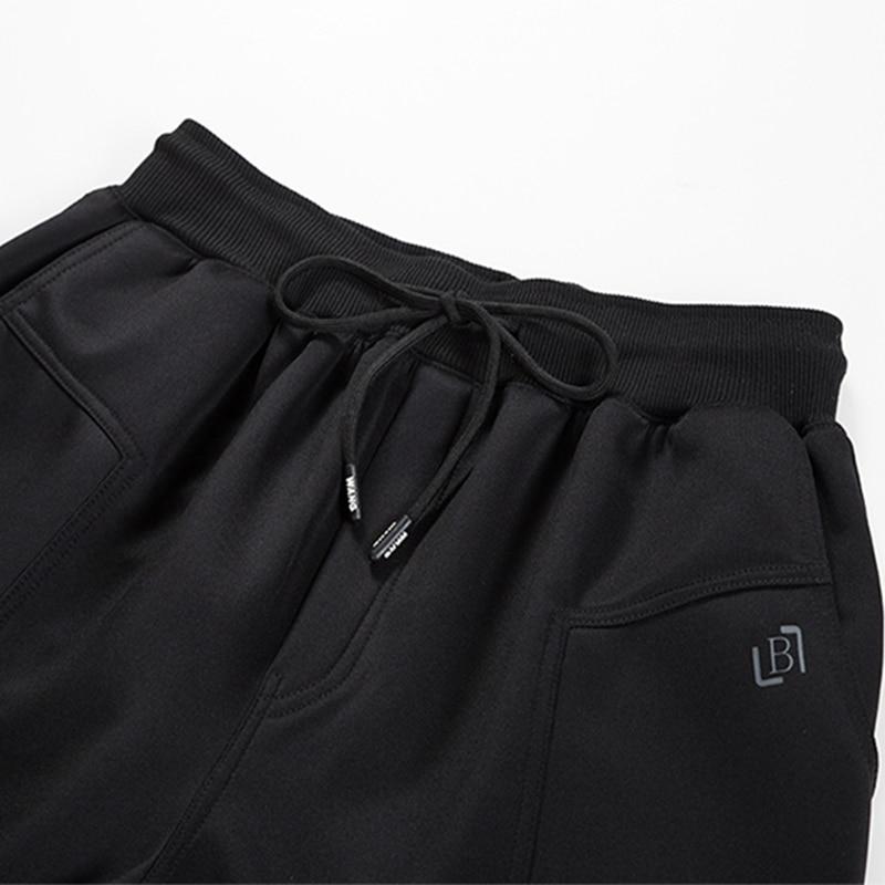US Size Summer Mens Shorts Casual Jogger Clothes Short Sweatpants Elastic Waist Bodybuilding Sportswear Loose Mens Trousers 2XL