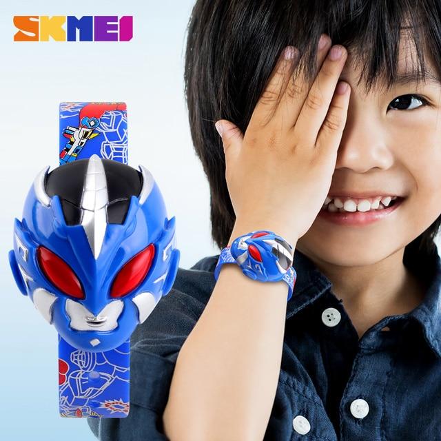 SKMEI Sports Digital Children Student Watch Children's Watches Cartoon Clock Electronic Relogio Masculino Wristwatch For Boy1239