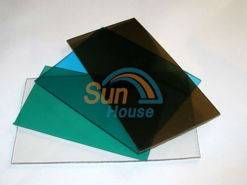 3mm polycarbonate solid sheet embossed sheet plain sheet