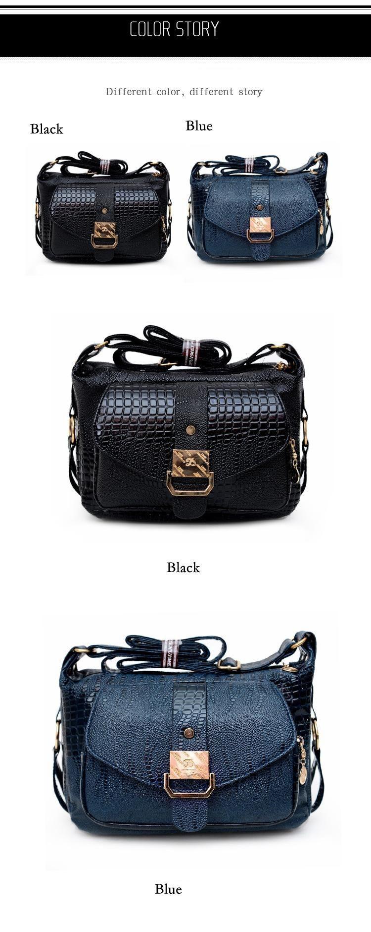 16 Women Messager Bags High Quality PU Leather Shoulder Bag Mom Causal Crossbody Bags Women Handbags Bolsas #16Me31/9 4