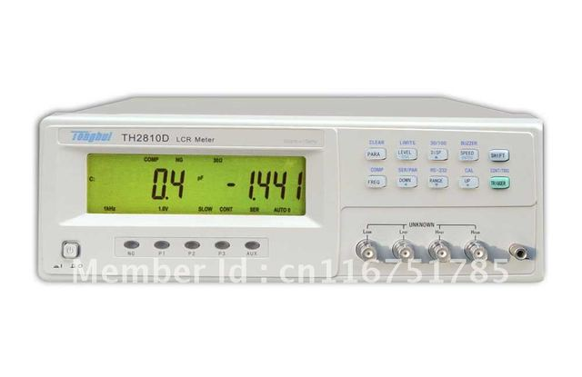 Free shipping!Bench LCR Meter TH2810D (Factory price)