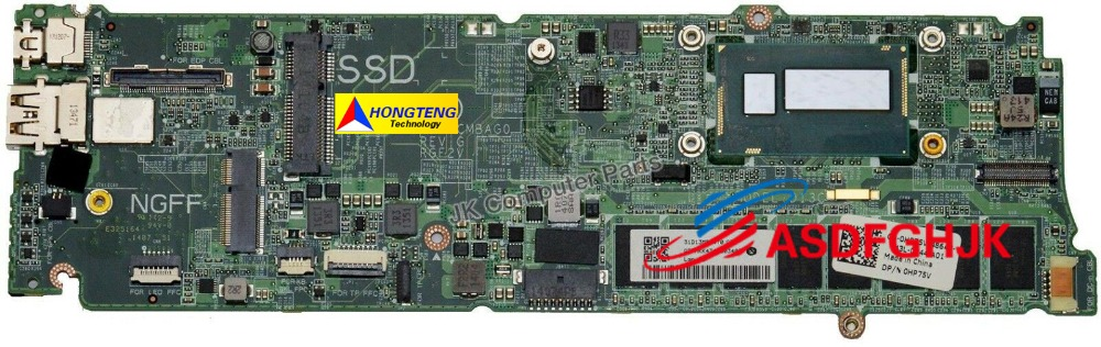 GENUINE for Dell for XPS 13 9333 Ultrabook Laptop Motherboard Intel DAD13CMBAG0 31D13MB04T0 GENUINE for Dell for XPS 13 9333 Ultrabook Laptop Motherboard Intel DAD13CMBAG0 31D13MB04T0