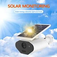Waterproof Outdoor Security Camera Solar Battery Powered Wireless IP Camera PIR Alarm Wifi Camera Remote Control