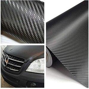127 x 30cm Carbon Fiber Wrap Roll Car Sticker Sheet Decorative Practical Paster New(China)