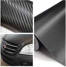 127 x 30cm Carbon Fiber Wrap Roll Car Sticker Sheet Decorative Practical Paster New