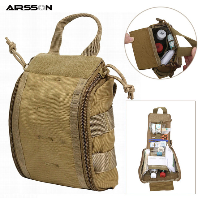 1000D Molle Tactical First Aid Kits Utility Medical Accessory Bag Outdoor Hunting Hiking Survival Modular Medic Bag Pouch 1