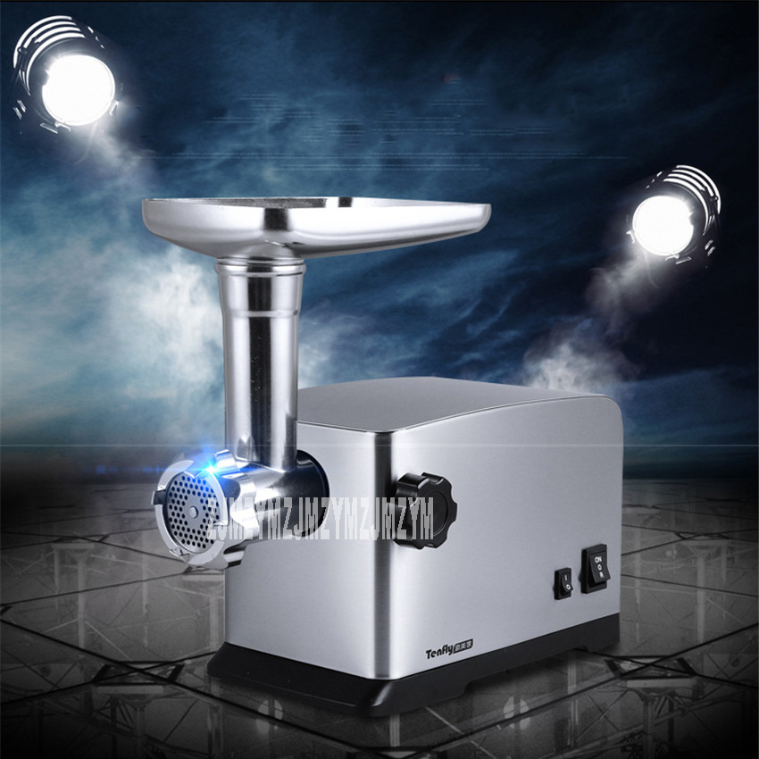 Household meat grinder electric stainless steel meat grinder multi - purpose smal-size garlic mud filling enema machine no 5 small household manual meat grinder aluminium alloy body with stainless steel blade