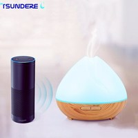 TSUNDERE L 400ML Air Humidifier WiFi Smart Aroma Diffuser Essential Oil Diffuser Voice Wizard Voice Control