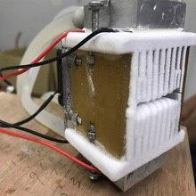 1ピースdiy 120ワットtecペルチェ半導体冷蔵庫水冷空調ムーブメント用冷凍とファン
