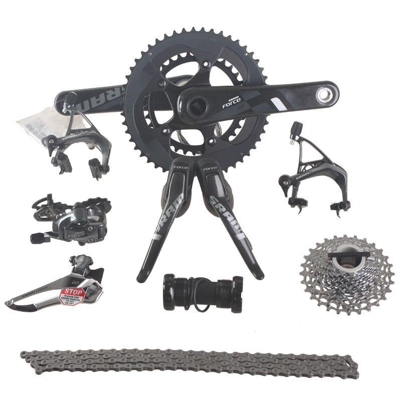 SRAM силы скорости сезон 2 эпизод 11 22С 50x34T 53x39T 170мм 172.5 мм углерода дороги велосипед Манетки велосипед комплект