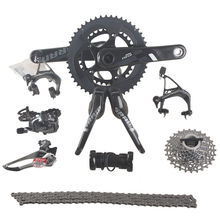 SRAM FORCE 2×11 22S Speed 50x34T 53x39T 170mm 172.5mm Carbon Road Bicycle Groupset Bike Kit