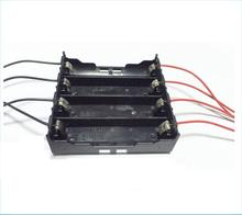 For 4x 18650 Rechargeable Battery Plastic Battery Holder Storage Box Case Jan 26