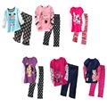 Cheapest Baby Girls Clothes Suits Discount Top Quality Children Outfits Sport Suits Kids Tracksuits Long Sleeve Autumn T-Shirts