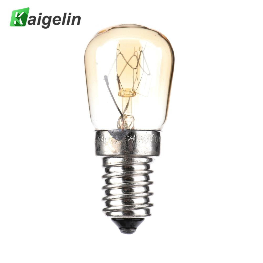 40W E27 500 Degree High Temperature Professional Microwave Oven Light Bulb Cooker Tungsten Filament Lamp Bulb
