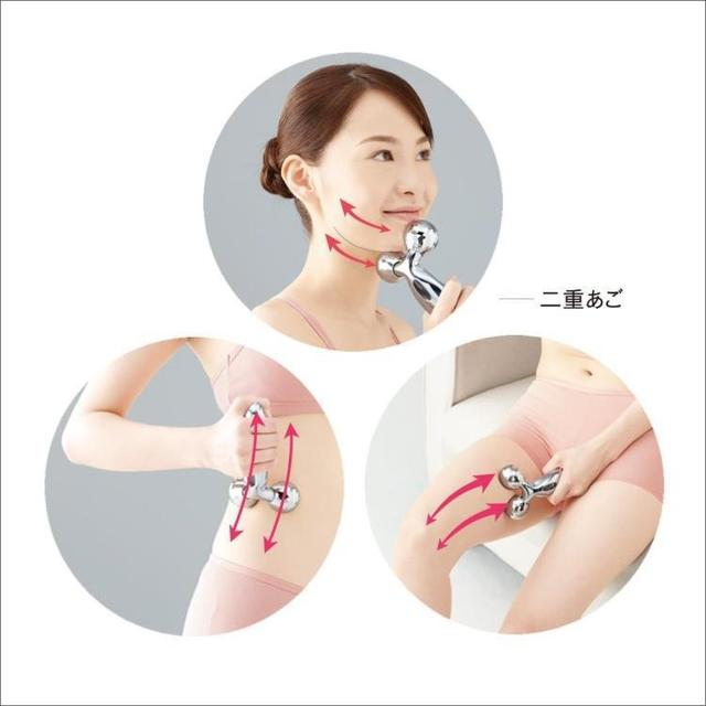 Y type thin face machine roller face massager 3 d available plastic instrument Facial beauty bar Facial for cosmetic