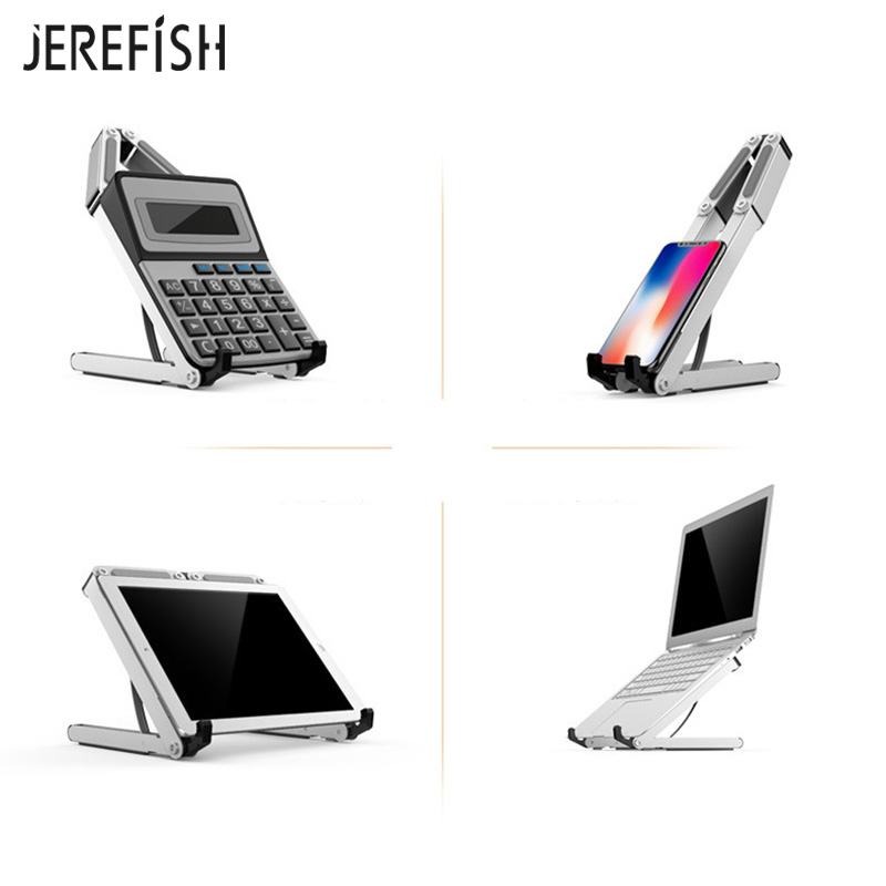 Universal Aluminum Alloy Tablet Holder For IPad Pro 12.9 Metal Support For Macbook Pro Laptop Stand Holder Accessories