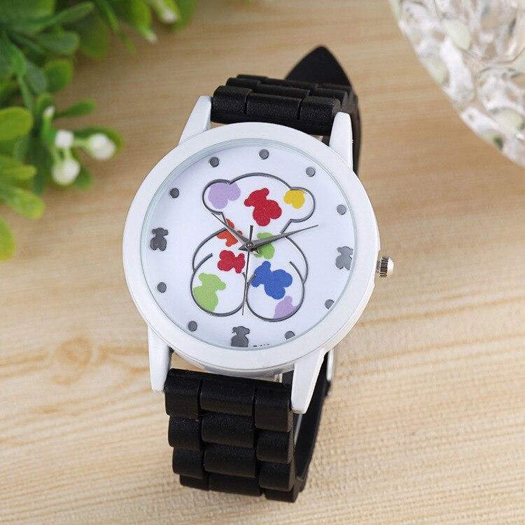 Relojes Mujer 2019 New Hot Luxury Brand Bear Quartz Watches Zegarki Damskie Fashion Sports Men Women Watches Relogio Feminino