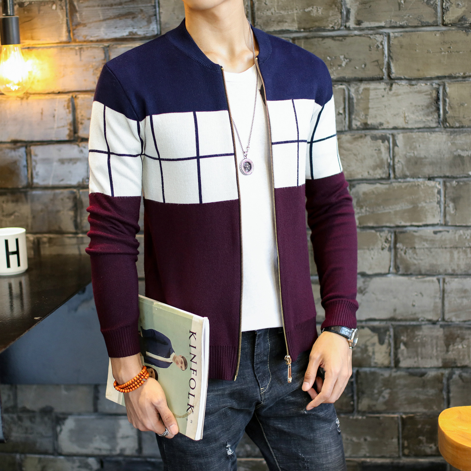 Sweater Autumn Winter Men Fashion Casual Warm X9-171019Z Nice Hot-Selling Wholesale Cheap