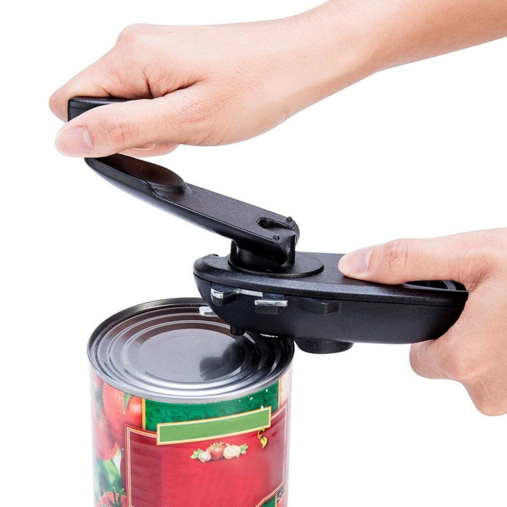 Multifunction 8 In 1 Manual Can Opener Bottle Jar Beer Easy OPen Portable Gadget Kitchen Manual Tool