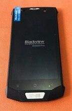 """تستخدم الأصلي شاشة الكريستال السائل شاشة لمس الشاشة الإطار ل Blackview BV8000 برو 5.0 """"FHD MTK6757 ثماني النواة شحن مجاني"""