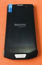 """בשימוש המקורי LCD תצוגת מסך + מסך מגע + מסגרת עבור Blackview BV8000 פרו 5.0 """"FHD MTK6757 אוקטה Core משלוח חינם"""
